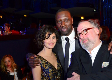 Audrey Tautou, Omar Sy & Alex Berger © Sipa