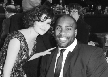 Audrey Tautou & Teddy Riner © Sipa