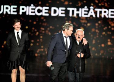 Charles Tordjman et Francis Lombrail  et Guillaume Sentou  © Rachid Bellak Pool Bestimage