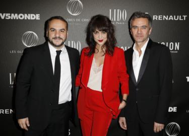 Xavier Demaison, Melissa Drigeard, Vincent Juillet © Rachid Bellak Pool  Bestimage